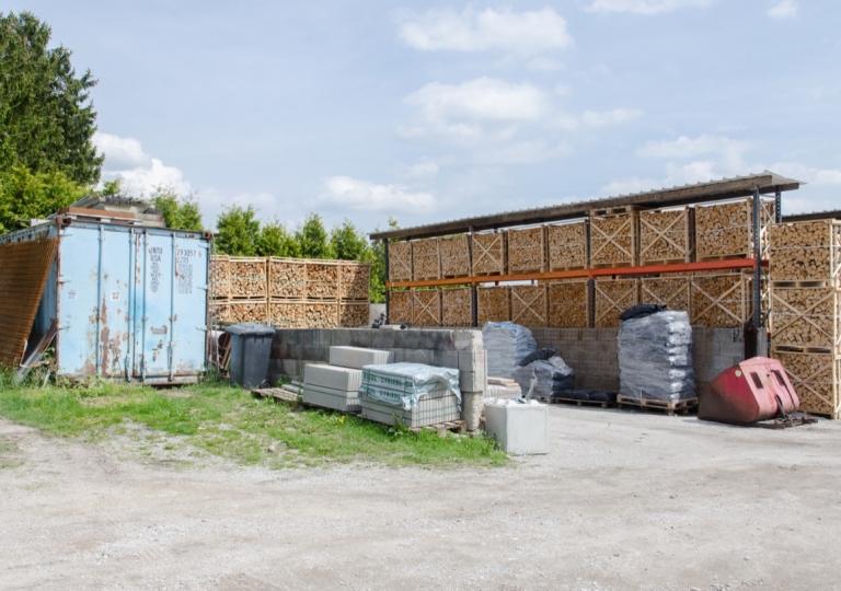 Brennstofflager Koltai Bau- und Brennstoffe